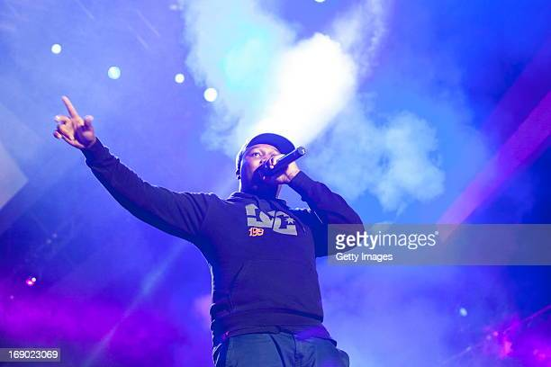 Big Nuz performs at the MTV Africa All Stars Concert on May 18 2013 in Durban South Africa