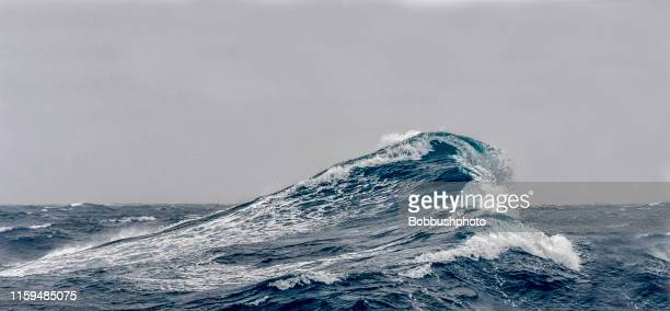 big ocean swells - wave stock pictures, royalty-free photos & images