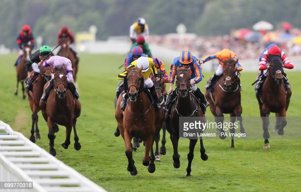 Big Orange ridden by jockey James Doyle coming home to win the Gold Cup during day three of Royal Ascot at Ascot Racecourse
