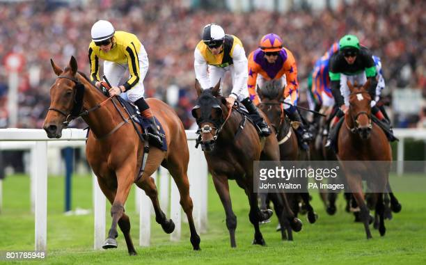 Big Orange ridden by Jockey James Doyle on the way to winning the Gold Cup during day three of Royal Ascot at Ascot Racecourse