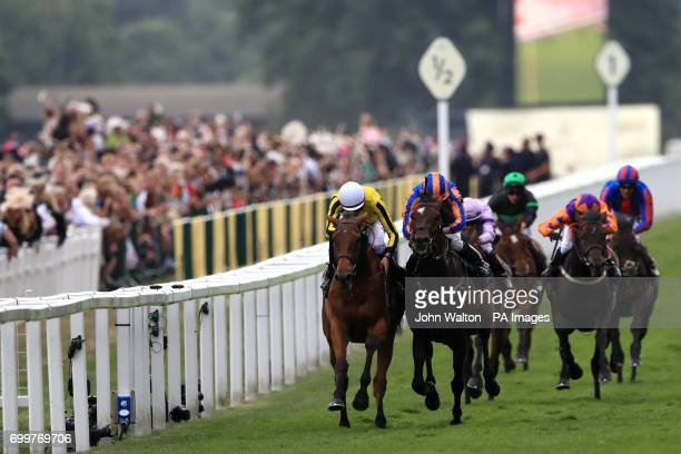 Big Orange ridden by Jockey James Doyle wins the Gold Cup during day three of Royal Ascot at Ascot Racecourse