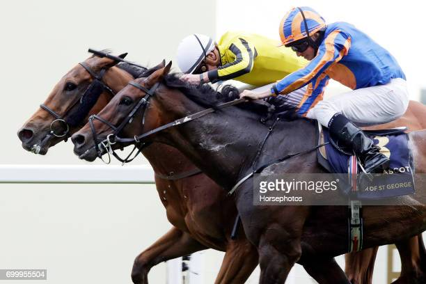 Big Orange with James Doyle up wins the Ascot Gold Cup at Ascot Racecourse on June 22 2017 in Ascot England