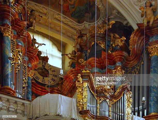 Big organ in Waldsassen