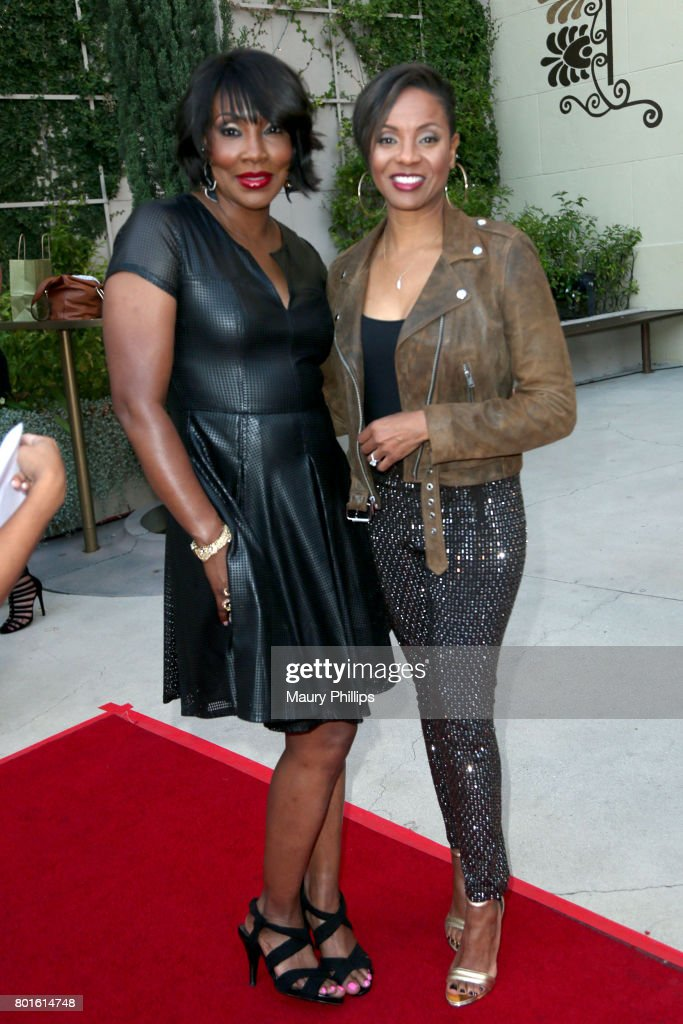 Big Percy and MC Lyte attend The Comedy Underground Series at The Alex Theatre on June 26, 2017 in Glendale, California.