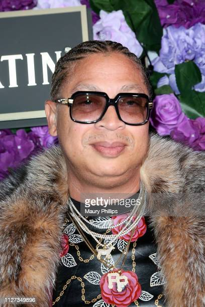 Big Percy attends The Griot Gala Oscars After Party 2019 at The District by Hannah An on February 24 2019 in Los Angeles California