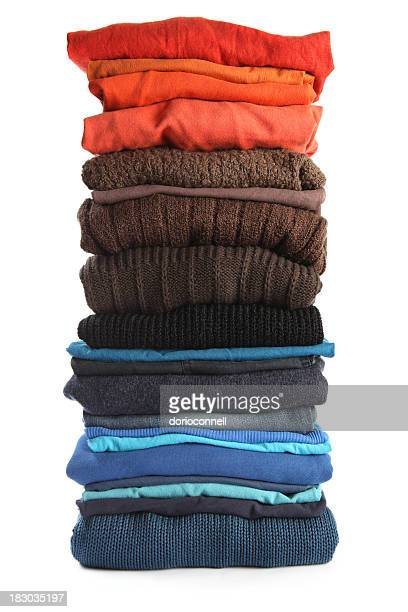 big pile of clothing