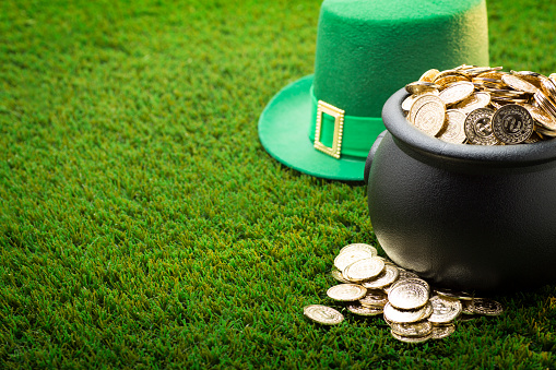 Big Pot of Gold and Hat on St. Patrick's Day 637833712