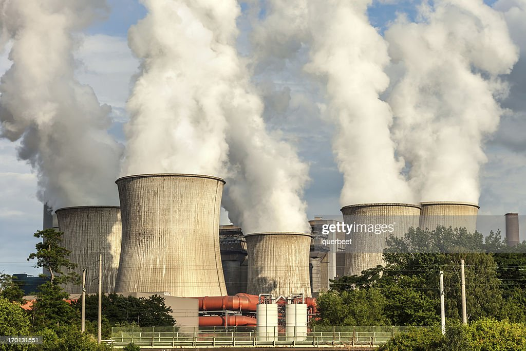 Big Power Plant : Stock Photo