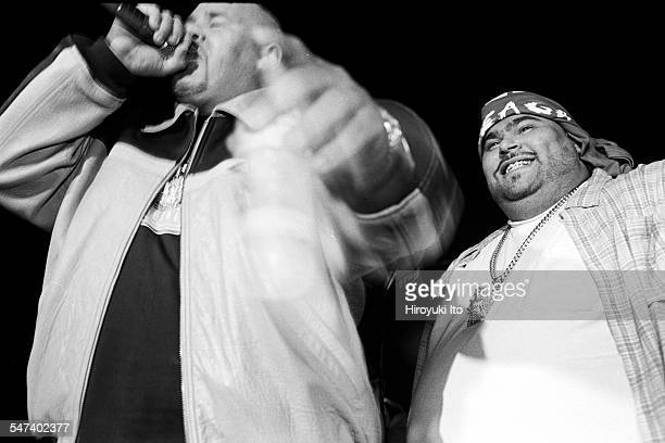Big Pun and Fat Joe performing at Les Poulets on May 13 1998This imageFat Joe left and Big Pun