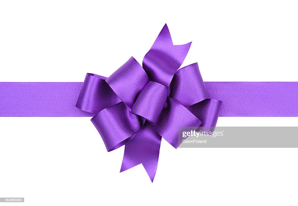 Big purple gift bow stock photo getty images big purple gift bow stock photo negle Image collections