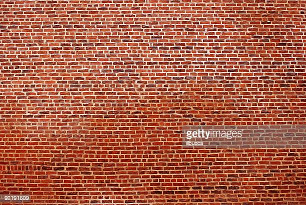 Big red brick wall