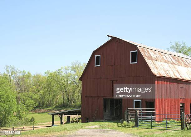 Big Red Happy Barn