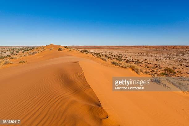 'Big Red' Simpson Desert sand dune