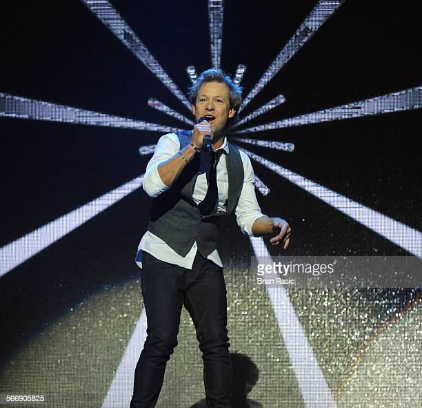 Big Reunion Concert Hammersmith Apollo London Britain 21 Feb 2014 5Th Storey Adam Rickitt
