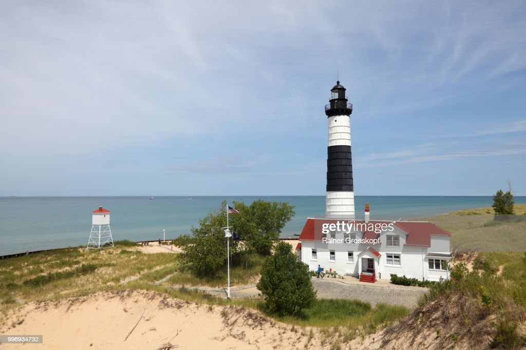 Big Sable Point Lighthouse (1867) : Stock-Foto