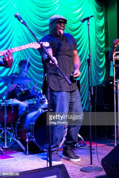 'Big Sam' Williams performs at Big Sam's Funky Nation In Concert Hermosa Beach CA at Saint Rocke on May 16 2018 in Hermosa Beach California