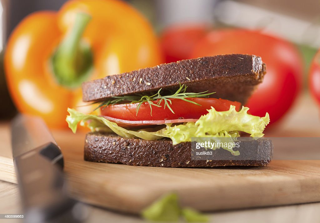big sandwich : Stock Photo