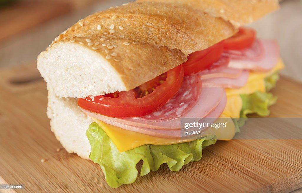 big sandwich : Stock Photo
