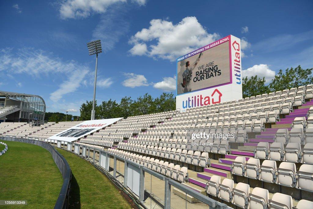 England v West Indies: Day 5 - First Test #RaiseTheBat Series : News Photo