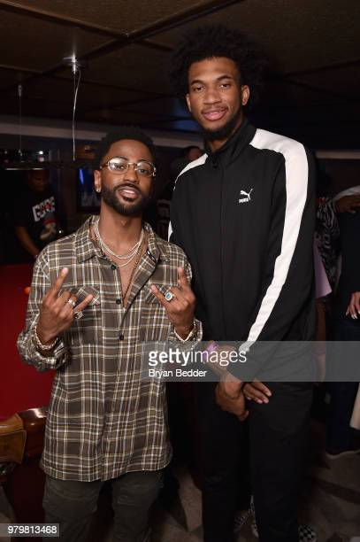 Big Sean and DeAndre Ayton attend the PUMA Basketball launch party at 40 40  Club 91eaac5cf