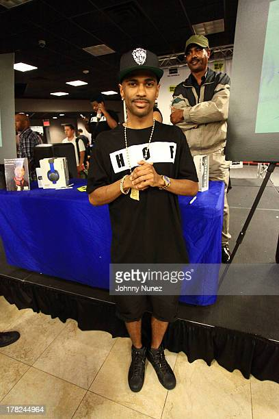 Big Sean attends his CD Signing at Best Buy on August 27 2013 in New York City