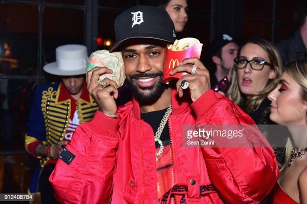 Big Sean attends McDonald's Celebrates Music's Hottest Night With The Chainsmokers at The Bowery Hotel on January 26 2018 in New York City