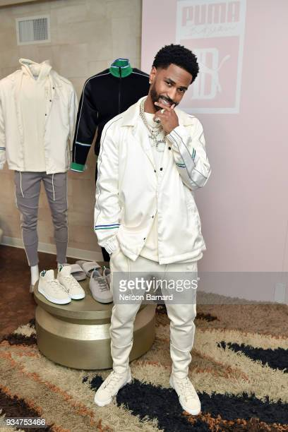Big Sean attends PUMA x Big Sean Collection Launch Event at Goya Studios on March 19, 2018 in Los Angeles, California.