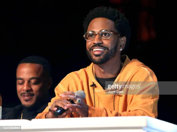 Big Sean attends Remy Martin Crowns the Winner of Producers Series Season 5 with Big Sean & Mustard on September 26, 2018 in Los Angeles, California.