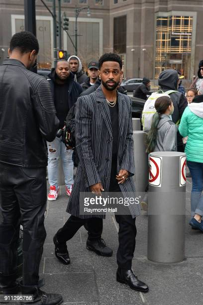 Big Sean attends Roc Nation THE BRUNCH on January 27 2018 in New York City