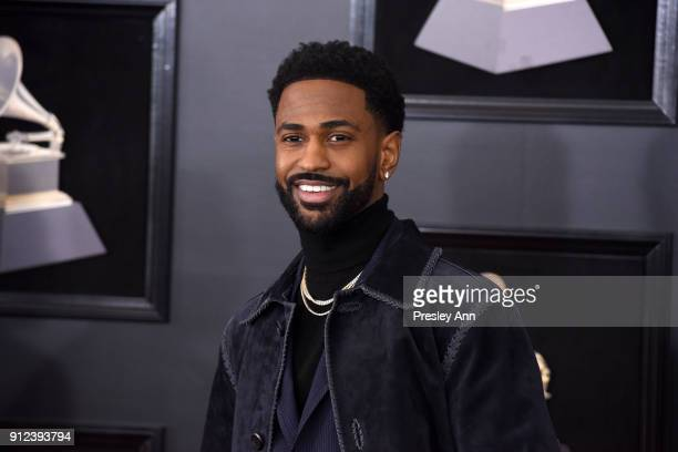 Big Sean attends the 60th Annual GRAMMY Awards Arrivals at Madison Square Garden on January 28 2018 in New York City
