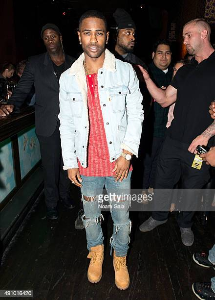 Big Sean attends the AW wrap party during Advertising Week 2015 AWXII at Webster Hall on October 1 2015 in New York City