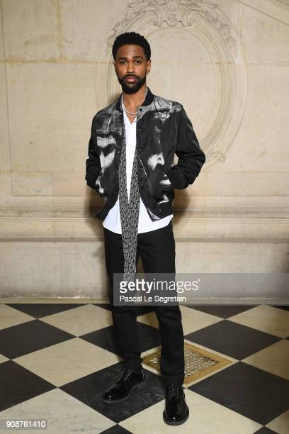 Big Sean attends the Christian Dior Haute Couture Spring Summer 2018 show as part of Paris Fashion Week on January 22, 2018 in Paris, France.