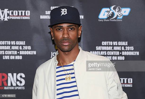 Big Sean attends the WBC middleweight world title Fight during Roc Nation Sports Miguel Cotto Vs Daniel Geale Fight at Barclays Center on June 6 2015...