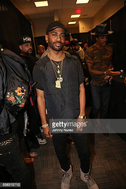 Big Sean backstage at Hot 97's Summer Jam 2016 at MetLife Stadium on June 5 2016 in East Rutherford New Jersey
