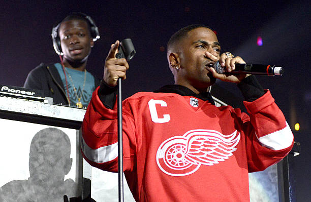 big sean performs as part of power 106s cali christmas at honda center on december 14