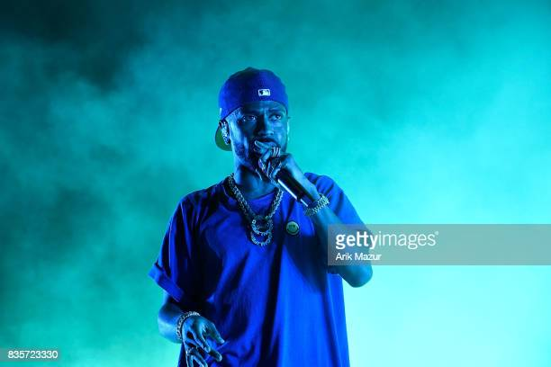 Big Sean performs at 2017 Billboard HOT 100 Music Festival at Northwell Health at Jones Beach Theater on August 19 2017 in Wantagh New York
