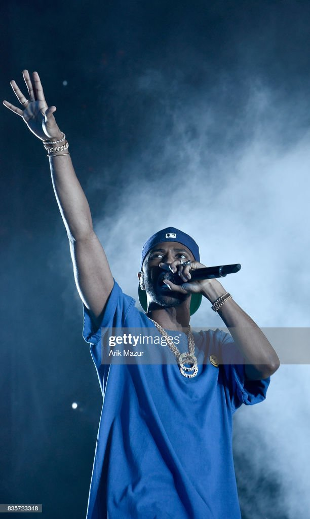 Big Sean performs at 2017 Billboard HOT 100 Music Festival at Northwell Health at Jones Beach Theater on August 19, 2017 in Wantagh, New York.