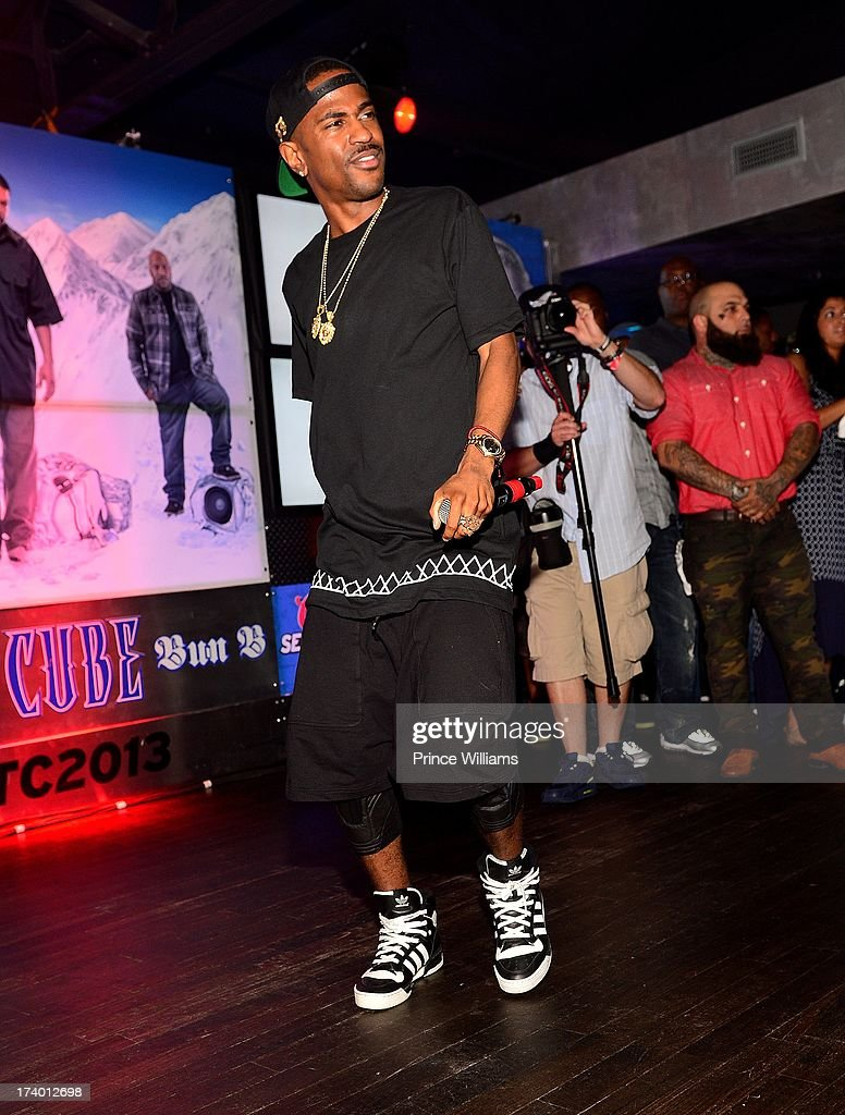 Big Sean performs at Coors Light 'Search For The Coldest' MC With Special Guest Big Sean at Prive on July 18, 2013 in Atlanta, Georgia.