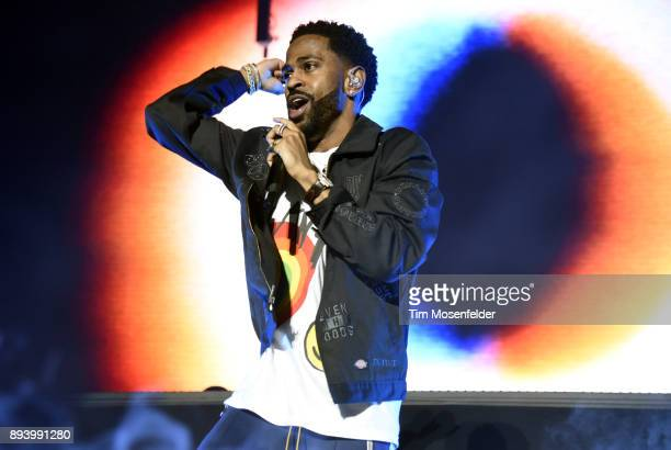 Big Sean performs during Power 106 FM's Cali Christmas at The Forum on December 16 2017 in Inglewood California