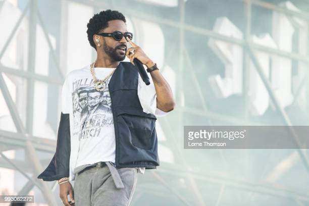 Big Sean performs during Wireless Festival 2018 at Finsbury Park on July 6th 2018 in London England