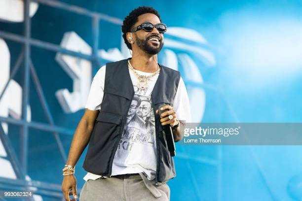 Big Sean performs during Wireless Festival 2018 at Finsbury Park on July 6th, 2018 in London, England.