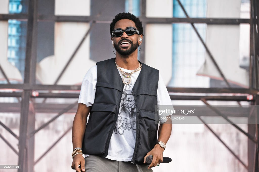 Big Sean performs on Day 1 of Wireless Festival 2018 at Finsbury Park on July 6, 2018 in London, England.