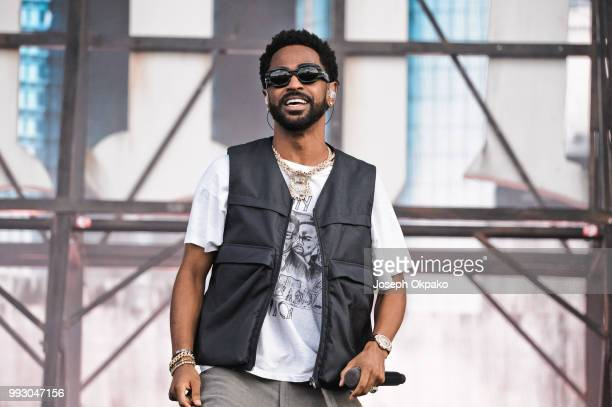 Big Sean performs on Day 1 of Wireless Festival 2018 at Finsbury Park on July 6 2018 in London England