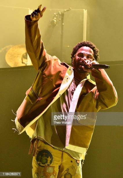 Big Sean performs onstage in Harlem at The Apollo Theater presented by iHeartRadio LIVE and Verizon on October 29, 2019 in New York City.