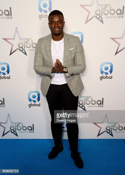 Big Shaq attends The Global Awards a brand new awards show hosted by Global the Media Entertainment Group at Eventim Apollo Hammersmith on March 1...