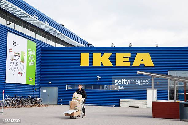 IKEA big shopping house for mainly furniture in Sweden
