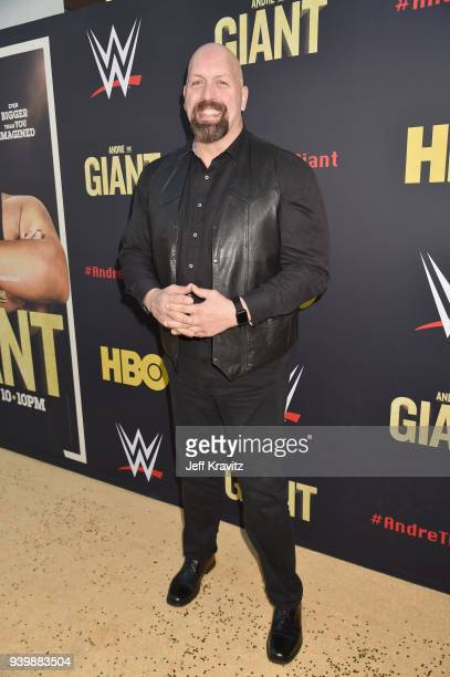 Big Show attends the Los Angeles Premiere of Andre The Giant from HBO Documentaries on March 29 2018 in Los Angeles California