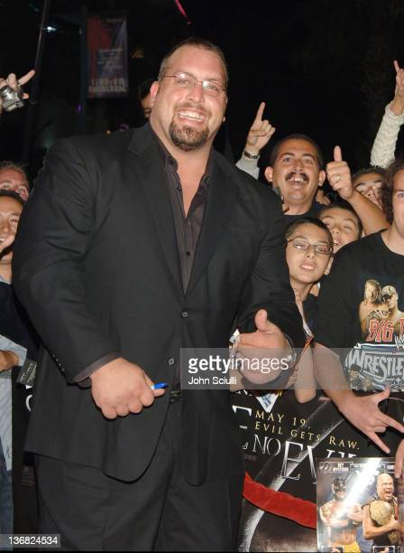 Big Show WWE Raw Superstar during 'See No Evil' Premiere Arrivals in Los Angeles California United States