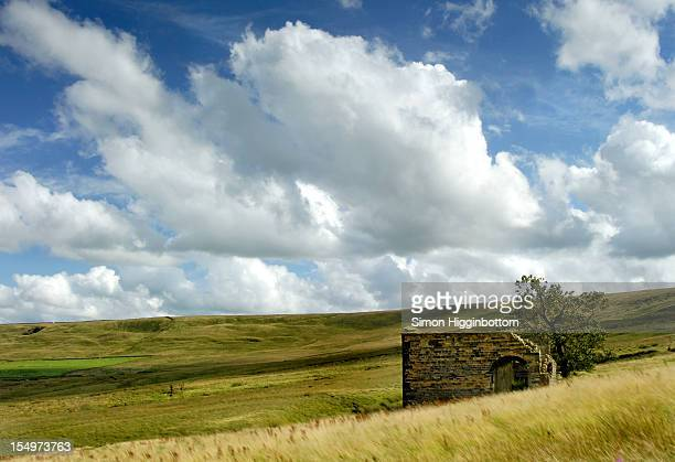 big sky, west yorkshire - simon higginbottom stock pictures, royalty-free photos & images
