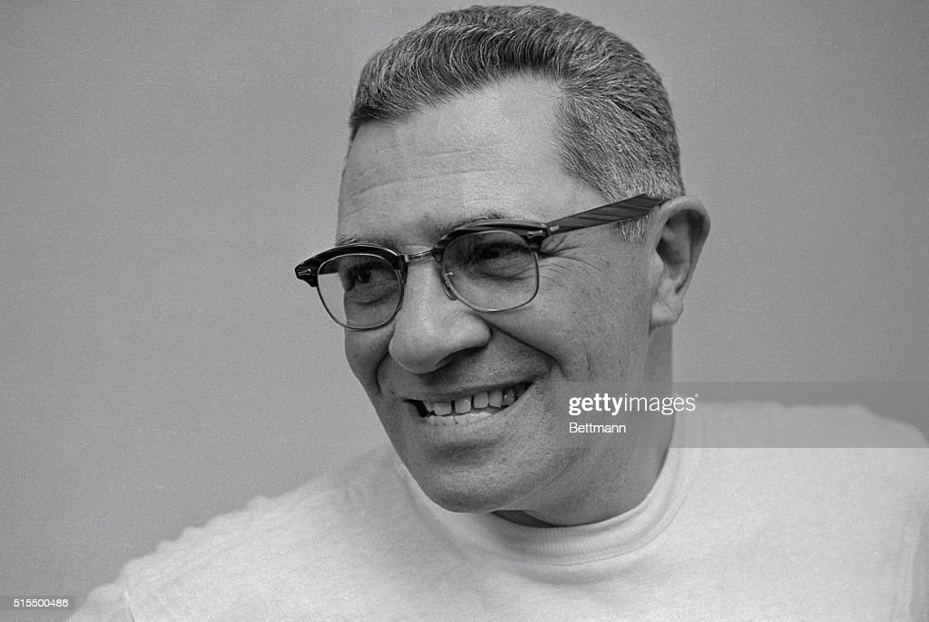 Green Bay Packers Coach Vince Lombardi : ニュース写真